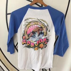 【90s】RONJON ラグラン 七分丈ロングTシャツ