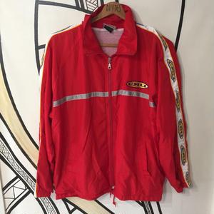 【再熱】USA製 CRU 90年代 レッド ジャージジャケット