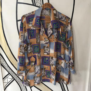 【奇抜】ビッグシルエット 絵画柄 デザイン 日本製 柄シャツ