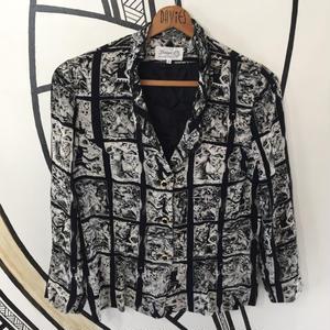 【SALE】奇抜柄ヴィンテージ日本製シャツジャケット