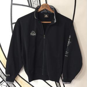 【スポーツMIX】kappa ブラック トラックジャケット