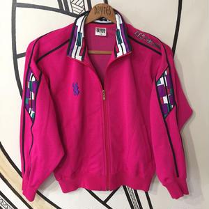 【90s】SUPERSTAR ヴィンテージピンクジャージジャケット