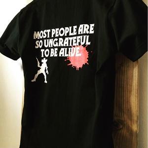LAMPS Gun&Blood  Tシャツ