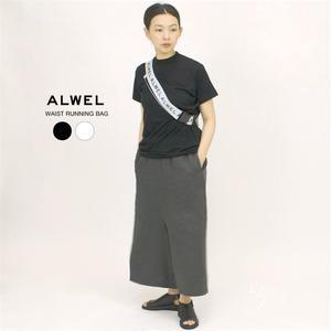【再々入荷】ALWEL(オルウェル) | WAIST RUNNING BAG