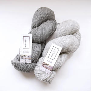 150g かせ - Blue Sky Fibres 「WOOLSTOK - WORSTED」