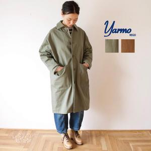 Yarmo(ヤーモ) DUSTER COAT コットン100% ステンカラーコート