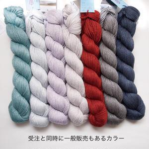【受注販売】Blue Sky Fibres アルパカシルク 50g かせ