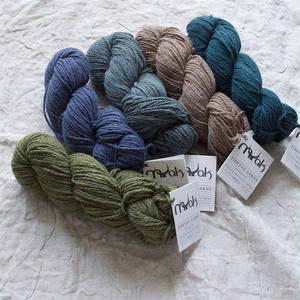 【2営業日以内に発送可能】mYak 100% baby yak wool『Medium(DK)』50gかせ ヤク100%
