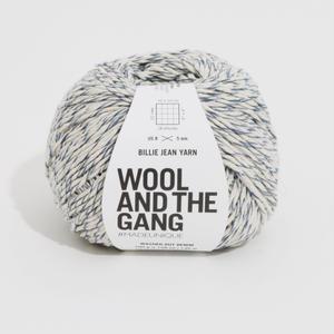 【受注販売】WOOL AND THE GANG 100%アップサイクルコットン【BILLIE JEAN YARN】