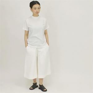 ALWEL(オルウェル)   Harf Sleeve Long T / コットン クルーネックTシャツ