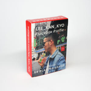 Juicebox selfie playing cards vol.1