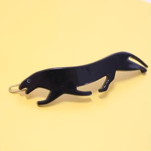 フランス1980年代*黒豹のヘアピン ヴィンテージ_035