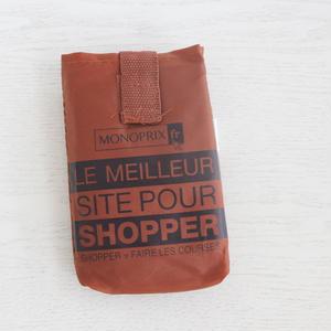 パリのスーパーMONOPRIX エコバッグ ショコラ