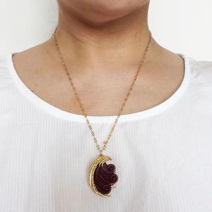 ORENA<オレナ>蝶の羽ネックレス フランス製_227