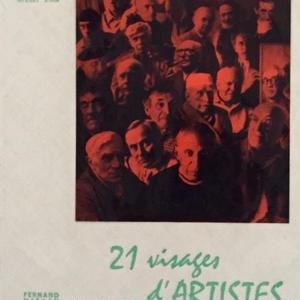 21 visages D'ARTISTES / Michel Siwa