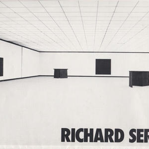 DONALD JUDD/RICHARD SERRA