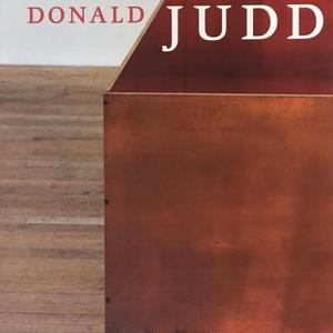DONALD JUDD / Nicholas Serota