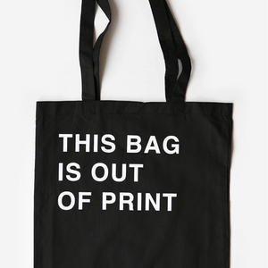 THIS BAG IS OUT OF PRINT TOTE BAG