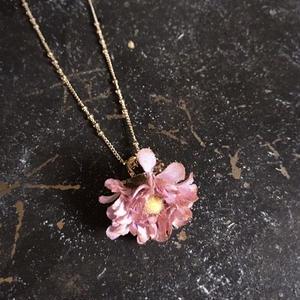 【限定一点】Lilaf デイジーのネックレス pink