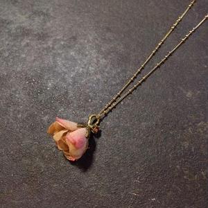 【限定一点】Lilaf あじさいのネックレス pink