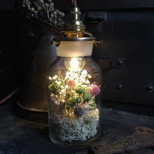 【数量限定】Lilaf フラワーボトルライト small