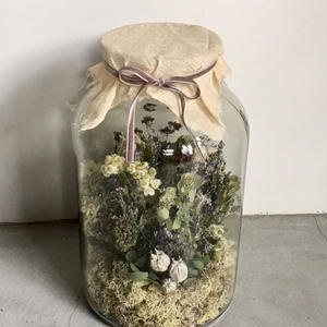 【限定一点】Lilaf お花のアレンジメント大 blue