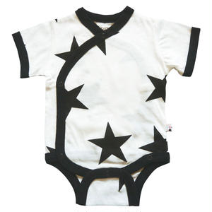 【babysoy】 半袖ロンパース