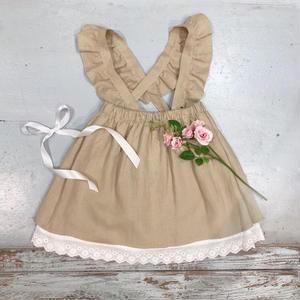 【Bebe Organic】スカート INGRID SKIRT   o-12 ベージュ