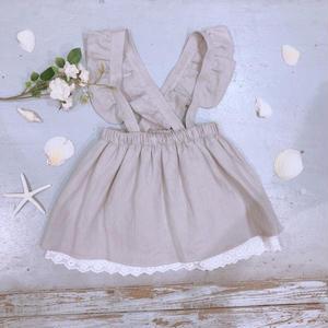 【Bebe Organic】スカート INGRID SKIRT   o-13 グレー