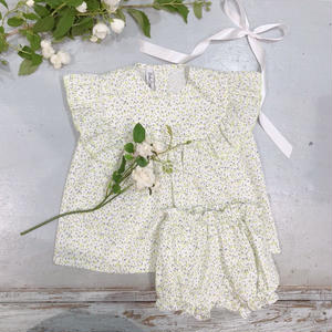【Bebe Organic】セットアップ EMMA TOP&SALLY BOOMERS o-019     イエロー