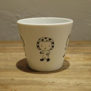 【tomopecco】フリーカップ ふろしき女の子