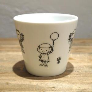 【tomopecco】フリーカップ 《風船》