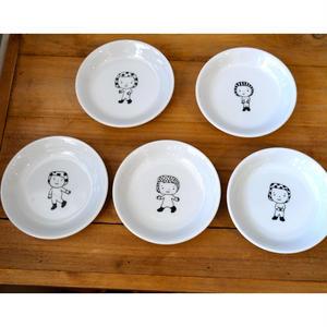 【tomopecco】小皿 ふろしき女の子