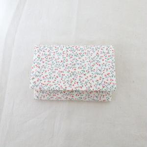 花柄ポケットティッシュケース