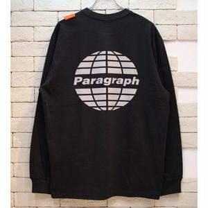 PARAGRAPH CLASSIC REFRECTOR LOGO TEE BLACK