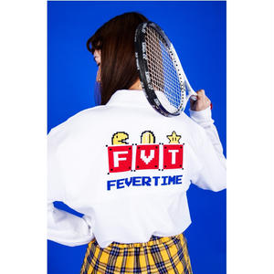 FEVERTIME MARIO KARA TEE WHITE