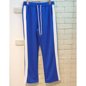 SIDE LINE TRAINING PANTS BLUE x WHITE