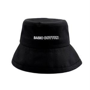 BASIC COTTON BIG BUCKET HAT