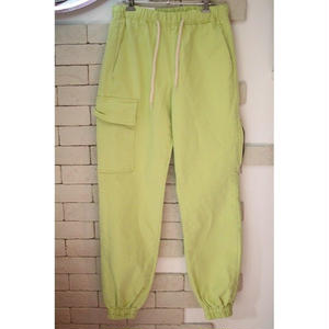 CARGO JOGGER PANTS SAFETY GREEN