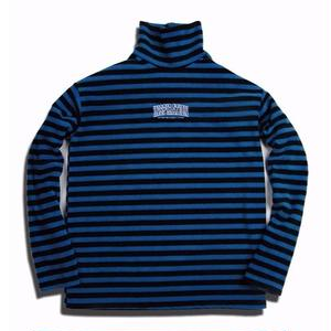 MY INSPIRATION XFACTOR STRIPE FLEECE POLA BLUE
