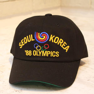 SEOUL OLYMPIC CAP 2 BLACK