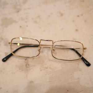 SQUARE SUNGLASSES GOLD