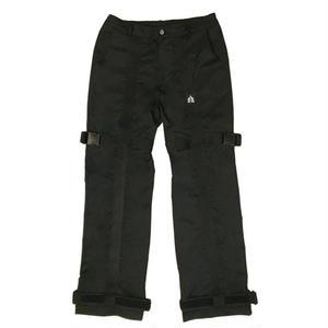 VERDAMT BELTED PANTS BLACK