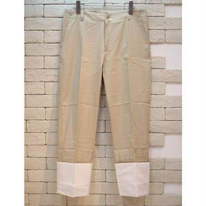 ROLL-UP CHINO PANTS