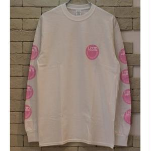 LIVE IN THE MOMENT L/S OG TEE WHITE