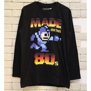 MEGA MAN OFFICIAL L/S TEE