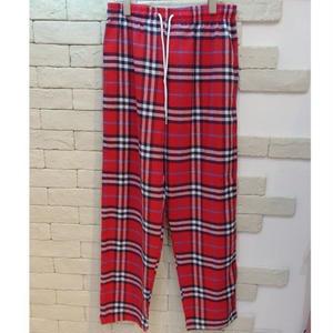 B CHECK E-Z PANTS -ST- RED