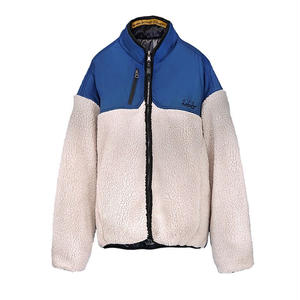 M-P-Q SIGNATURE REVERSIBLE FUR JUMPER WHITE
