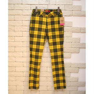 DICKIES GIRL MCLEOD TARTAN STARAIGHT WORKPANTS