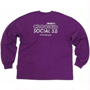 A PIECE OF CAKE ACS3.0 LONGSLEEVED TEE PPL